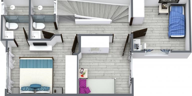 Carmen Amelia - 2do - 3D Floor Plan - Sin