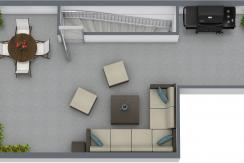 Carmen Amelia - 3ro - 3D Floor Plan - Sin